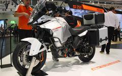 【大阪モーターサイクルショー15】KTM、1290 スーパーアドベンチャー を日本初公開 画像