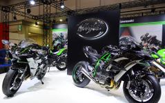 【東京モーターサイクルショー15】カワサキ ニンジャ H2R 出展、「楽しいバイクを作りたかった」 画像