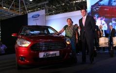 フォード、インドで フィーゴ・アスパイア 発表…小型セダン 画像