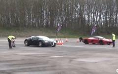 ラ・フェラーリ と ブガッティ ヴェイロン、世界最高峰スーパーカーが加速競争[動画] 画像
