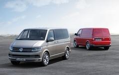 VW の主力商用車、トランスポルター 新型…6世代目が登場 画像