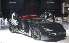 【上海モーターショー15】4億円のスーパーカー「ライカン」あらわる…ワイルド・スピード最新作にも 画像