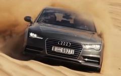 アウディ A7、砂漠を駆ける…これがクワトロの実力[動画] 画像