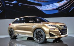 【上海モーターショー15】ホンダ コンセプトD…中国専用SUVのフラッグシップ[詳細画像] 画像