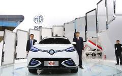 【上海モーターショー15】中国上海汽車、自動運転SUV『MG iGS』を初公開 画像