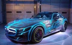 メルセデス AMG GT が仮面ライダーの新たなライバルに…? 8月公開の映画で「ドライブ」! 画像