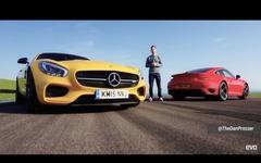 メルセデス AMG GT S、ポルシェ 911ターボ と徹底比較[動画] 画像