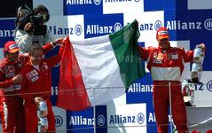 【F1フランスGP】シューマッハ、フェラーリ、ブリヂストン、勝利 画像