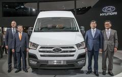 ヒュンダイ 初の欧州向け商用車、H350…トルコで生産開始 画像