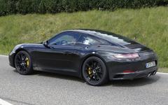 ポルシェ 911 改良型、新デザインをフルヌード撮影! 画像