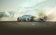 カストロール、仮想空間を実車で走るバーチャルドリフト動画を公開 画像
