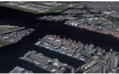 NTTデータなど、衛星画像を活用した2m解像度高精細版3D地図と3D地図データを提供 画像