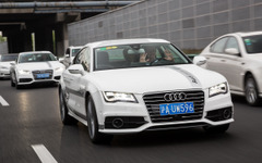 【CESアジア 15】アウディ RS7 の自動運転車、中国上海での公道テストに成功 画像