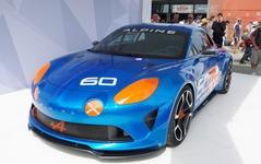 【ルマン24時間 2015】アルピーヌ、60周年記念モデルを初公開…市販スポーツカーを示唆 画像