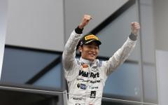 松下信治、GP2オーストリア戦のレース2で3位初表彰台を獲得 画像
