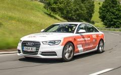 アウディ A6、欧州14か国周遊で燃費ギネス記録…26.87km/リットル 画像