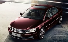 VW フェートン、中国で改良新型 画像