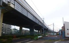 首都高7号とC2を連絡する小松川ジャンクション…連絡路+街路の拡幅スペース現れる 画像