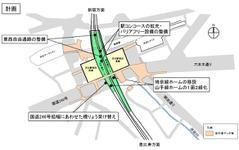JR東日本の渋谷駅改良工事、9月から本格化…埼京線移設は2020年春 画像