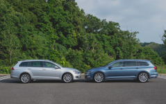 """【VW パッケージ比較】同じMQBプラットフォームを使う パサート は""""大きな ゴルフ """"なのか? 画像"""