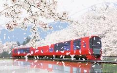 えちごトキめき鉄道のリゾート列車、愛称は「雪月花」…来春デビュー 画像