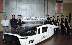 工学院大学、新開発のソーラーカーを公開…ワールドソーラーチャレンジに参戦 画像