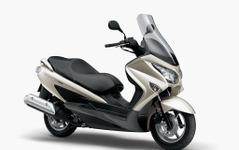 スズキ、コンパクトスクーター バーグマン200 に新色を追加 画像