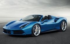 【フランクフルトモーターショー15】フェラーリ、488 スパイダー 発表…458 スパイダーが大幅進化 画像