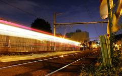 """都電の直下に2車線バイパス道…工事にあわせて線路も""""走り""""も変わる 画像"""