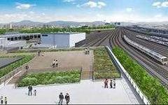 京都鉄道博物館の展望デッキ、名称は「スカイテラス」に 画像