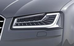 アウディ A8、3リットルモデルにマトリクスLEDヘッドライト標準装備化 画像