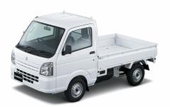 スズキ、軽トラック キャリイの燃費を向上…5AGS車に2速発進モードも 画像