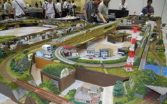 【鉄道模型コンベンション15】47のモデラーが自慢の作品を披露、会場には子ども連れが多数 画像