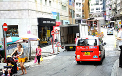 香港島・九龍のタクシーに変化…赤い「NV200」増える 画像