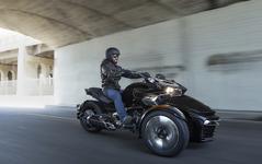 【Can-Am Spyder F3 試乗】クイックな動きはまるでレーシングカート…青木タカオ 画像