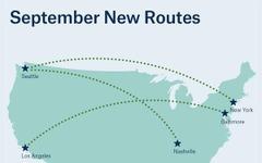アラスカ航空、ロサンゼルス=ボルチモア線運航開始…シアトル発着2路線も間近 画像