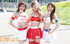 【サーキット美人2015】鈴鹿8耐 編20『Honda 緑陽会熊本レーシングwithくまモンRQ』&『Honda 緑陽会熊本レーシングRQ』 画像