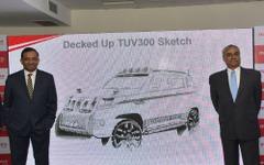 インドのマヒンドラ、小型SUV「TUV300」投入で市場拡大めざす 画像