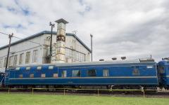 引退したJR北海道の『北斗星』用客車2両が公開…苗穂工場イベントで 画像