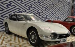 【全日本模型ホビーショー15】京商、渾身の1/12スケール「トヨタ 2000GT」は3万円超え 画像