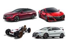 【東京モーターショー15】ホンダ、新型FCVを世界初公開…NSX、オデッセイHV も出展 画像