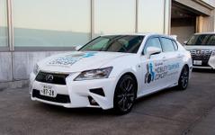トヨタ、首都高で自動運転実験車の報道向け試乗会 画像