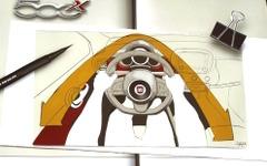 【フィアット 500X 発表】3次元的な形状変化、デザインと使い勝手向上 画像