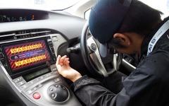 【ITS世界会議15】世界で一台 4WS仕様の自動運転 プリウス…アイシンが体験試乗 画像