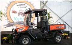 クボタ、米国生産拠点で四輪製品累計生産台数が100万台を達成 画像
