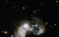 アルマ望遠鏡で遠方銀河の活発な星形成を観測 画像