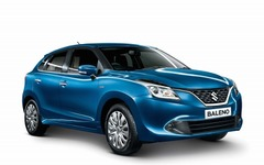 スズキ、インドで新型コンパクトカー バレーノ 発売…世界各国へも順次輸出 画像