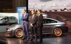 【東京モーターショー15】ニュル7分28秒の鬼レース仕様、BMW M4 GTS 見参 画像