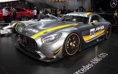 【東京モーターショー15】メルセデス AMG GT3、日本初公開 画像