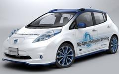 日産、実験車両での自動運転公道テストを開始…高速から一般道まで対応 画像